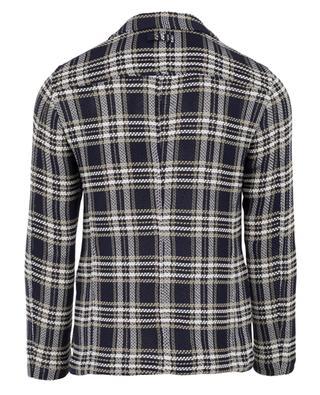 Chequered cotton blazer TONELLO