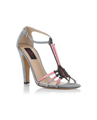Sandalen aus Wildleder und Leder VALENTINO