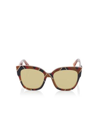Square-frame acetate sunglasses GUCCI