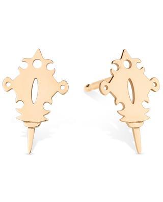 Ohrringe aus Roségold Tanger Studs GINETTE NY