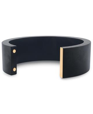 Croix du Sud ebony and pink gold cuff GINETTE NY