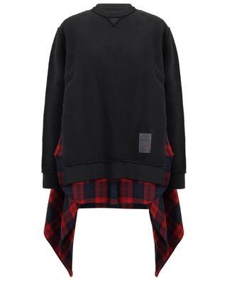 Sweatshirt mit Hemd-Detail DSQUARED2