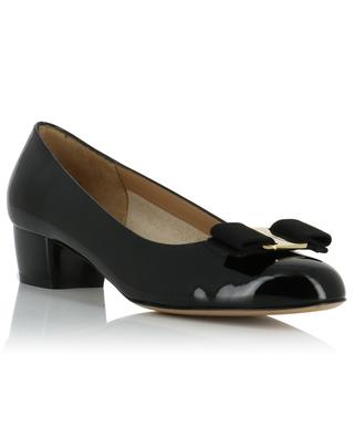 Vara patent leather pumps SALVATORE FERRAGAMO