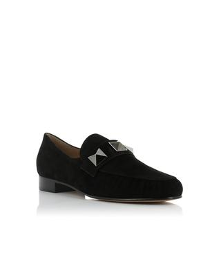 Suede loafers VALENTINO