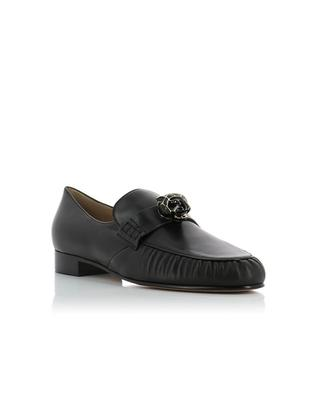 Panther leather loafer VALENTINO