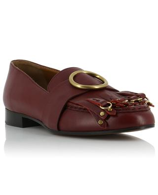 Olly leather loafers CHLOE