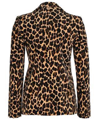 Blazer en velours imprimé taches guépard Cheetah FRAME