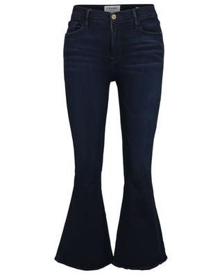 Le Crop Bell Rockview cropped flared high-rise jeans FRAME