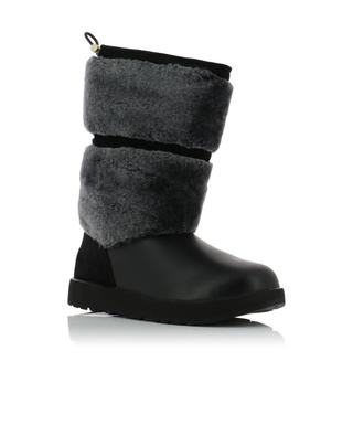 W Reykir suede and leather boots UGG