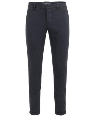 Gaucho cotton blend chino trousers DONDUP
