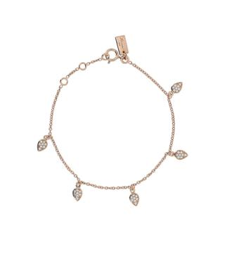 Drop gold plated silver bracelet AVINAS