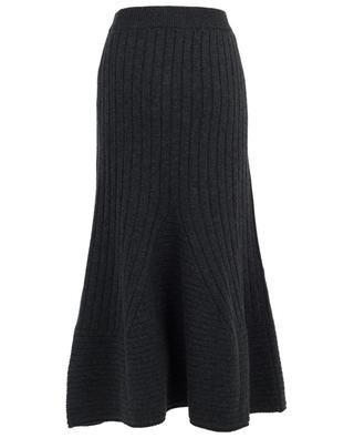 Jupe longue tricotée en laine vierge STELLA MCCARTNEY