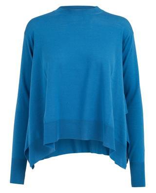 Asymmetrischer Pullover aus Schurwolle STELLA MCCARTNEY