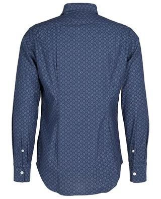 Lightweight cotton canvas shirt with print ELEVENTY
