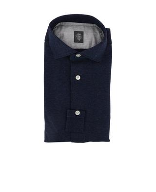 Patterned cotton shirt ELEVENTY