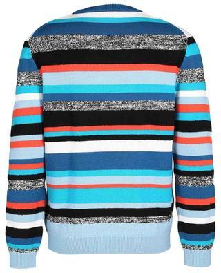 Broken Stripes wool blend jumper KENZO