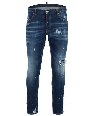 Slim Jeans im Used-Look Skater DSQUARED2