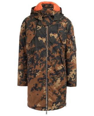 Camouflage-Parka aus Baumwolle DSQUARED2