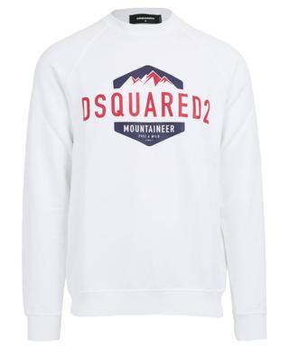 Pullover aus Baumwolle mit Print DSQUARED2