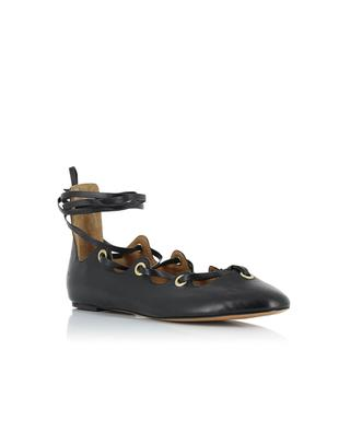 Leomia leather ballet flats ISABEL MARANT