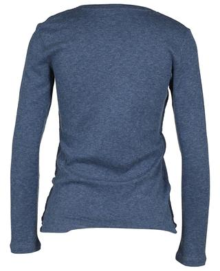 Wool and cashmere top MAJESTIC FILATURES