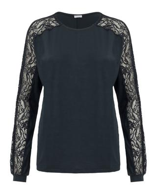 Modal and silk blend top ZIMMERLI