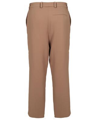 Pantalon carotte taille haute en crêpe Dustin TOUPY