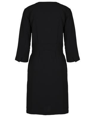 Kurzes Kleid aus Crêpe Dolmen TOUPY