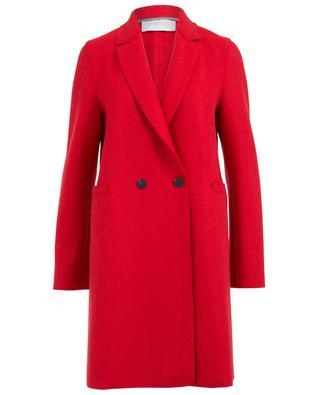 Half-long virgin wool coat HARRIS WHARF
