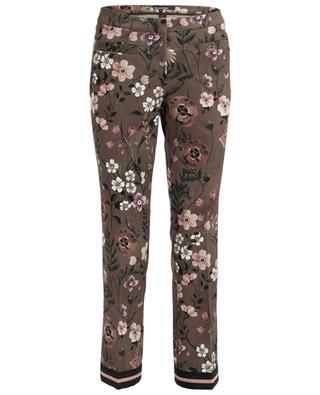 Hose mit Blumenprint Famous CAMBIO