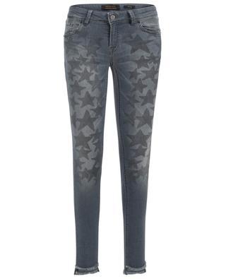 Slim-Fit Jeans mit Print Sinty Cut Out RAFFAELLO ROSSI