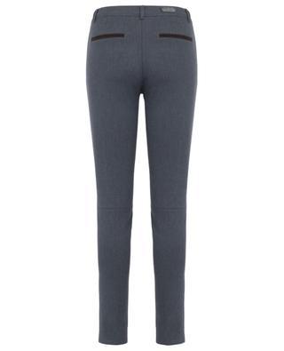 Hose aus Baumwollmix im Slim-Fit PAMELA HENSON