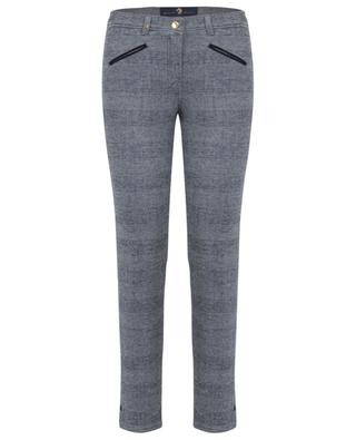 Royal cotton blend stretch trousers PAMELA HENSON
