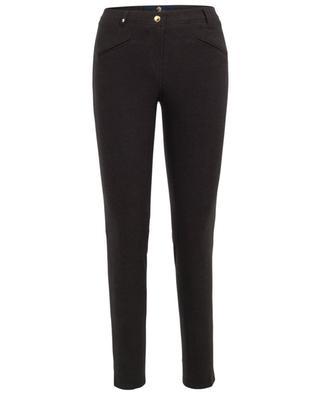 Pantalon stretch en coton mélangé Royal PAMELA HENSON