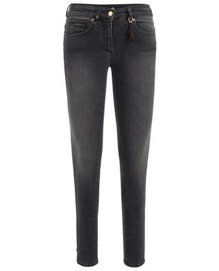 Ausgewaschene Skinny-Fit Jeans Cinq PAMELA HENSON