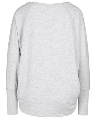 Leichtes meliertes Oversize-Sweatshirt mit Fledermausärmeln POLO RALPH LAUREN