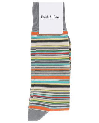Chaussettes en coton mélangé Stripe New PAUL SMITH