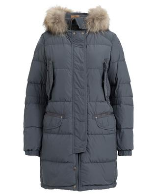 Harraseeket quilted parka with fur PARAJUMPERS ... bb0e80900ca