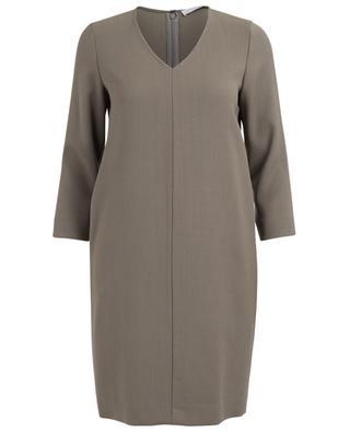 Viscose and merino wool dress FABIANA FILIPPI