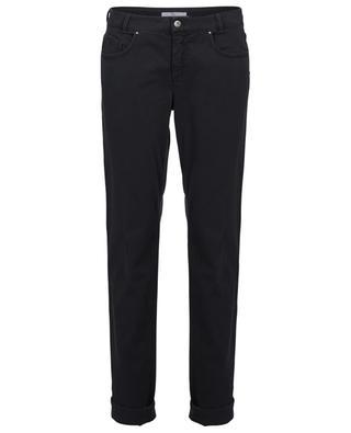 Trevi bead embellished straight fit jeans FABIANA FILIPPI