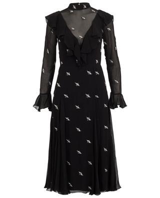 Midi-langes Kleid aus Viskose Starling TEMPERLEY LONDON