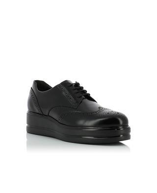 H323 patent leather derbies HOGAN