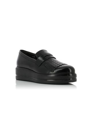 H323 patent leather loafers HOGAN