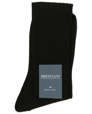 Chaussettes hautes en coton BRESCIANI