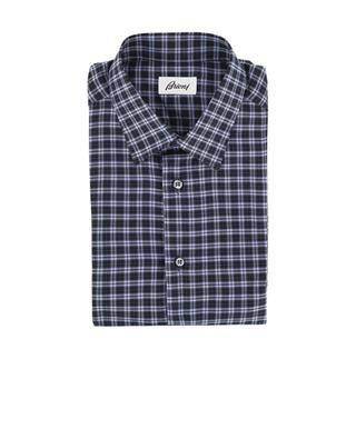 Chequered cotton shirt BRIONI