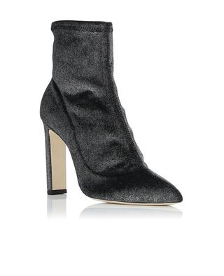 Louella metallic velvet low boots JIMMY CHOO