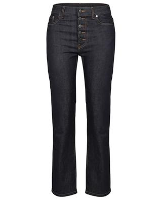 Den straight fit high-rise dark washed jeans JOSEPH