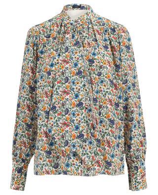 Bedruckte Bluse aus Seide Cora JOSEPH