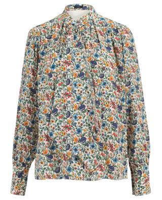 Cora printed silk blouse JOSEPH