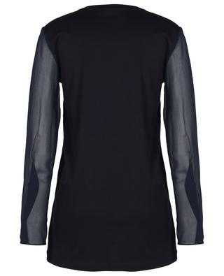 Jersey-T-Shirt mit langen Ärmeln aus Georgette JOSEPH